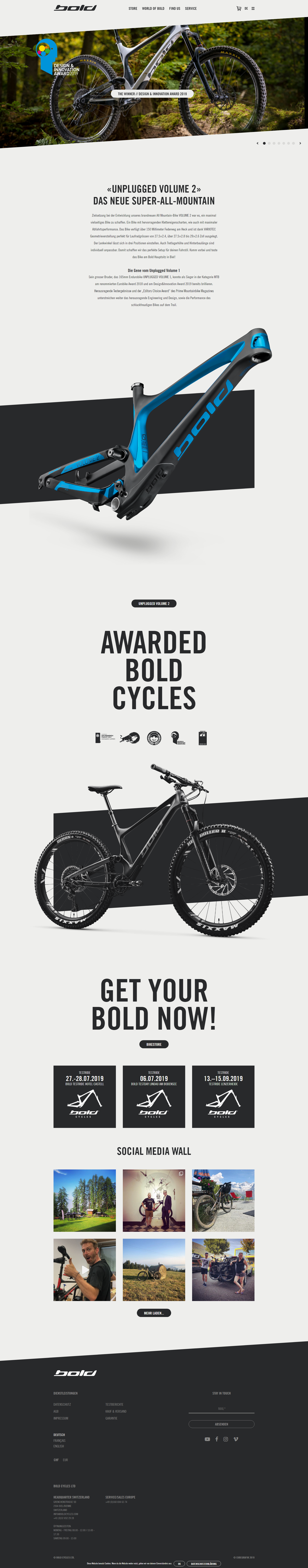 Bold Cycles