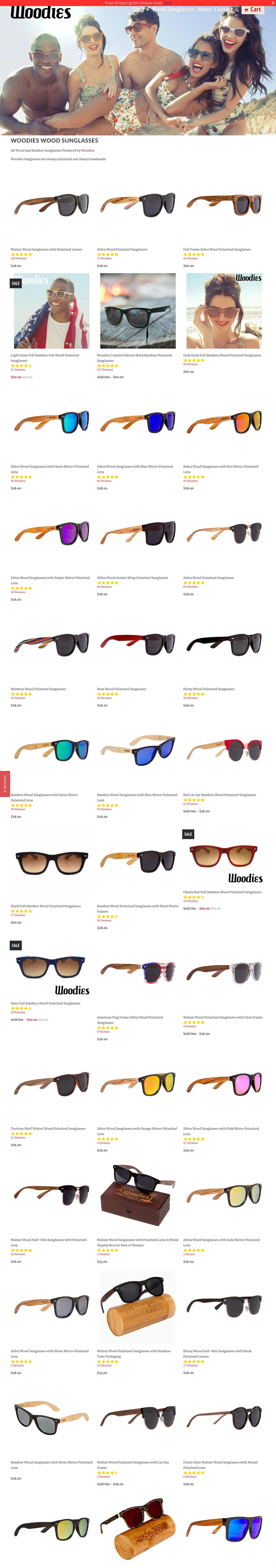 Woodies Wood Sunglasses